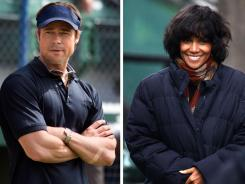 "You don't have to look like Brad Pitt, left, on the set of ""Moneyball,"" or Halle Berry, filming ""Cloud Atlas,"" to make a good impression on your present or future boss."