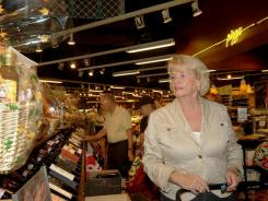 For Susan Fusaro of Jupiter, Fla., the benefits of shopping locally include knowing she can always find someone to help her at her local gourmet shop, Carmine's.