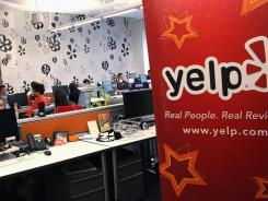 Yelp's New York City headquarters.