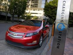 The 2011 Chevrolet Volt.