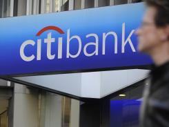 A Citibank branch at Citigroup headquarters on New York's Park Avenue.