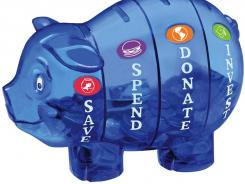 The Money Savvy Pig teaches kids self control, says Susan Beacham of financial education company Money Savvy Generation. She recommends it as a holiday gift.