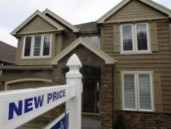 A home for sale in Portland, Ore., one of three cities in the index to show a price gain in September.