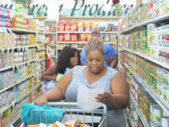 "A scene from TLC's ""Extreme Couponing All-Stars."""