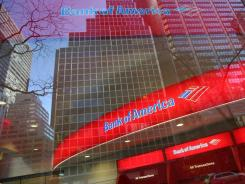 In this Jan. 25, 2009 file photo, a Bank of America branch office is shown in New York.