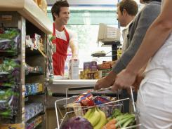 Grocery stores are know for placing alluring impulse buys at checkout lines as costumers wait to purchase goods.