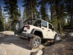 The 2012 Jeep Wrangler Unlimited Rubicon.