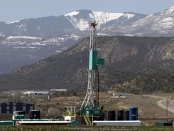 A natural gas well near Rifle, Co.