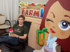 Mark Pincus is CEO of Zynga, the online gaming company that makes the popular Farmville. Zynga is preparing for its initial public offering.