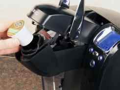 The Keurig Platinum B70 is easy to use.