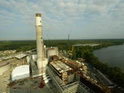 Dominion Chesterfield (Va.) Power Station, has a system designed to remove sulfur dioxide and mercury emissions from some units. File photo.