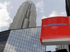 Bank of America's headquarters in Charlotte, N.C.in July 2010.