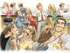 Here's what not to do at an office party.