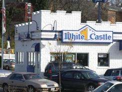 A White Castle restaurant  in Cincinnati. File photo.