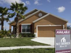 A new home for sale in Apopka, Fla.