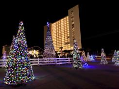 Money from BP helped pay for Christmas displays in Panama City Beach, Fla.