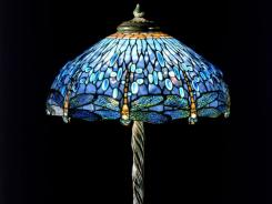 Dragonfly table lamp c. 1910, Tiffany Studios