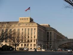 The Department of Agriculture building on Washington's Independence Avenue.