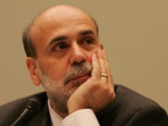 Federal Reserve Board Chairman Ben Bernanke on Capitol Hill in 2006.