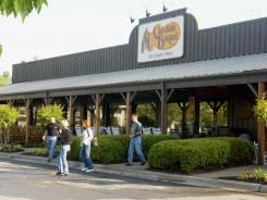 A Cracker Barrel in Roanoke Rapids, N.C.