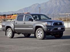 The 2012 Toyota Tacoma.