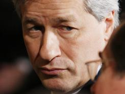 JP Morgan Chase CEO Jamie Dimon did not receive a bigger bonus in 2011.