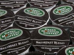 Green Mountain Coffee Roasters makes K-Cups for its Keurig single-cup brewers.