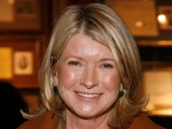 Martha Stewart attends the 2012 Winter Antiques Show Opening Night party at the Park Avenue Armory in New York City on Jan. 19, 2012.