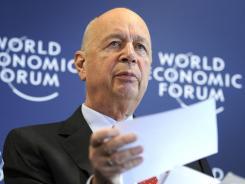 World Economic Forum founder Klaus Schwab.