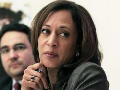 California Attorney General Kamala Harris: Proposed $25 billion settlement is inadequate.