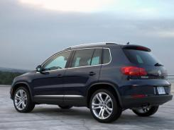 The 2012 Volkswagen Tiguan.