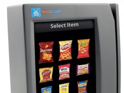 VendScreen's Android-powered touch screen device attaches to vending machines and displays the nutrition information for each product being sold.