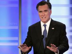 Republican presidential candidate Mitt Romney retired as head of private-equity firm Bain Capital in 1999.
