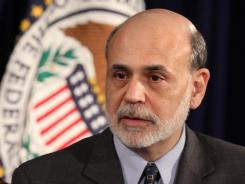 Federal Reserve Chairman Ben Bernanke testified before the House Budget Committee on Feb. 2, 2012. He is pictured here at a Feb. 25, 2012, news conference at theFederal Reserve Board Building in Washington.