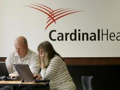 The DEA suspended Cardinal Health's controlled substances licenses on Friday for the third time in five years.
