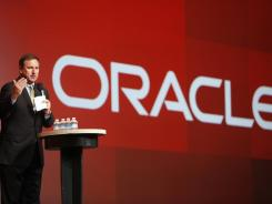 Oracle President Mark Hurd at an October event in San Francisco.