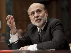 Federal Reserve Chairman Ben Bernanke testifies Tuesday before the Senate Budget Committee.