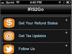You can use your smartphone to track your refund, check eligibility for tax credits and get help from the IRS.