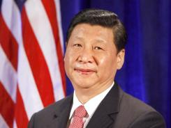 China's Vice President Xi Jinping speaks to the U.S.-China Business Council in Washington on Wednesday.