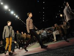 The Tommy Hilfiger Men's show Feb. 10 at Mercedes Benz Fashion Week in New York.