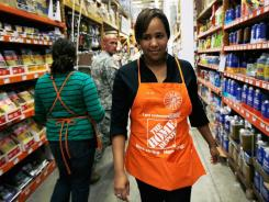 Barbara Chico is training to be a Home Depot Associate in Miami.