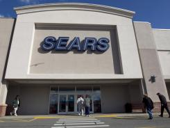 A Sears department store in Dedham, Mass.
