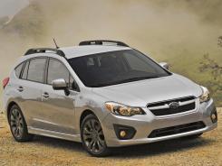 The 2012 Subaru Impreza.