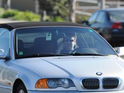 A recent distracted driver in Long Beach, Calif., near Los Angeles.