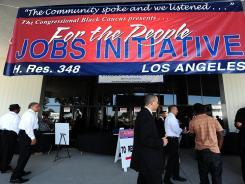 A 2011 job fair in South Los Angeles.