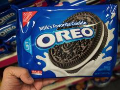 Oreo will be part of Kraft's snack food spinoff, called Mondelez.