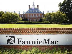 The Fannie Mae headquarters is seen in Washington, D.C., on Aug. 8, 2011.
