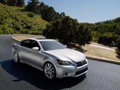 The 2013 Lexus GS 350.