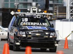 Driverless or 'autonomous' cars have come a long way since GM and Carnegie Mellon University were testing this SUV loaded with gear in 2008.