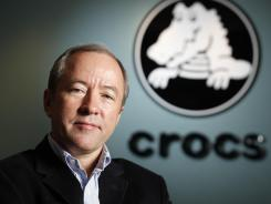 John McCarvel, CEO of Colorado-based Crocs.